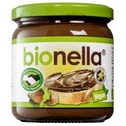Crema vegana de alune cu ciocolata Bionella, 400g, Bionella