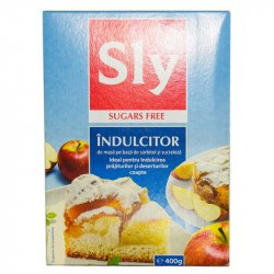 Indulcitor dietetic SLY, 400g, SLY NUTRITIA