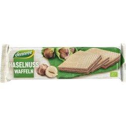 Napolitane cu crema de alune de padure, 125g DENNREE
