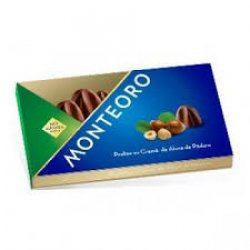 Praline cu crema de alune de padure fara zaharuri Monteoro, 120g