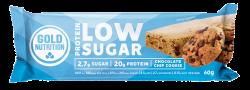 PROTEIN BAR LOW SUGAR  Biscuiti cu fulgi de ciocolata - Baton proteic  60 g