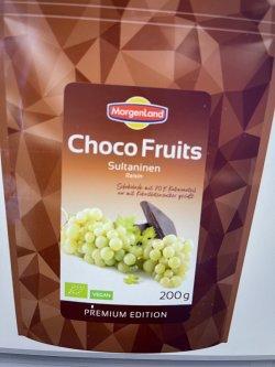 Stafide in ciocolata amaruie bio, 200g MorgenLand