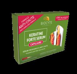 Tratament pentru Caderea Parului, Keratine Forte Serum, 5 x 9 ml, Biocyte