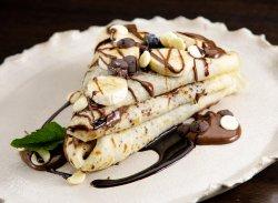 Clătite Mari cu Nutella și Banane image