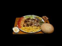Shawarma la farfurie + Pepsi image