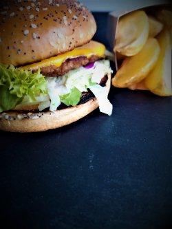 Dublu Burger pui  image