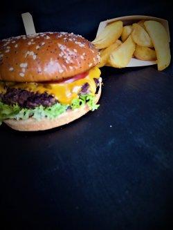 Dublu Burger vită image