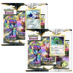 Pokemon Sword & Shield 2: Rebel Clash - 3-Booster Blister - mai multe modele image
