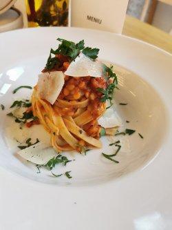 Tagliatelle Bolognese Vegetariano image