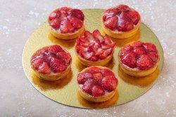 Tartă cu căpșuni  image