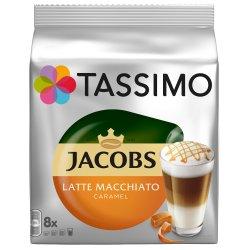 Capsule cafea, Jacobs Tassimo Caramel Macchiato, 8 bauturi x 295 ml, 8 capsule specialitate cafea + 8 capsule lapte image