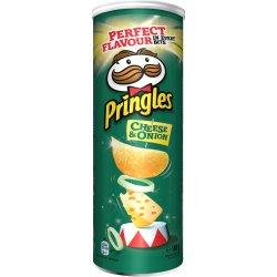 Chipsuri cu gust de branza si ceapa Pringles, 165g image