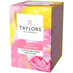 Infuzie Ceai Limonada Trandafir Taylors of Harrogate, 20 pliculete, 50 gr. image