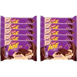 Pachet napolitane cu crema de cacao, glazurate in ciocolata Joe XXL 10x46g, 460g image