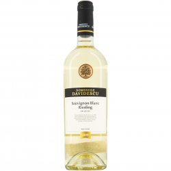 Vin Alb Domeniile Davidescu, Sauvignon Blanc & Riesling, Sec, 0.75L image