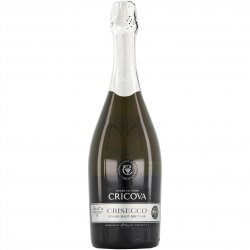 Vin Spumant Alb Cricova Crisecco Brut, 0.75l image