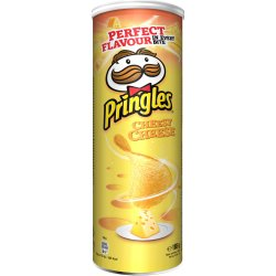 Chipsuri cu gust de branza Pringles, 165g image