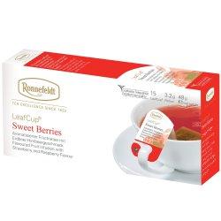 Infuzie fructe Leafcup® Sweet Berries, 15 pliculete, 48 g image