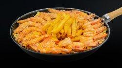 Garlic butter shrimp basket - 2 persoane image