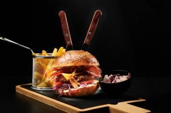 American burger image