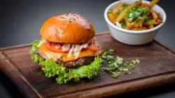 Angus burger – vită black angus image