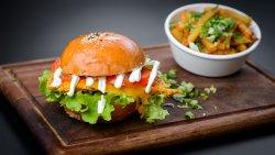 Crispy burger – carne de pui image