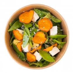 Goat cheese and sweet potato image