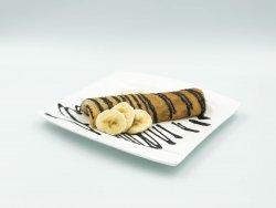 Clătită cu ciocolată și banane image