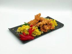 Pui shanghai și orez cu curry image