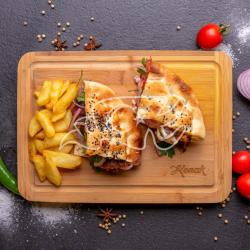 Meniu Pide chicken sandwich  image