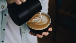 Caffe latte mare image