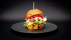 Sweet beef burger image