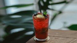 Cranberry mint cooler image
