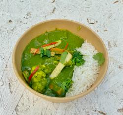 Curry thailandez verde vegetarian image