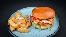 Burger halloumi image