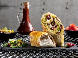 Burrito vegetarian image
