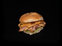 Panini pui cu bacon image