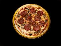 Pizza Salami e Funghi image