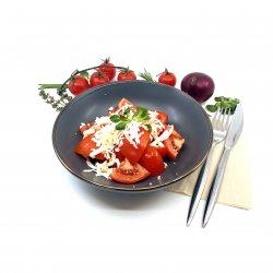 Salată de roșii cu brânză telemea image