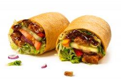 Wrap BBQ ribs image