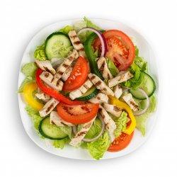 Salată cu bucăți de pui image