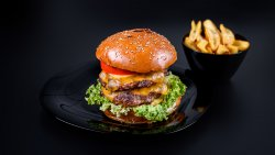 20% reducere: Double cheesburger image