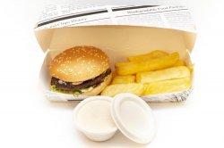 Burger menu image