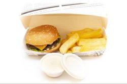 Cheeseburger menu image