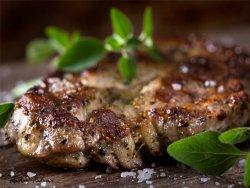 Cotlet porc la grătar image