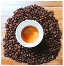 Espresso lung cu lapte image