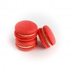 Macarons căpșuni image