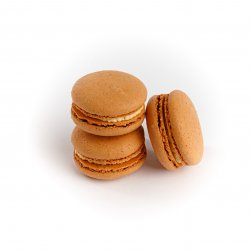 Macarons caramel image