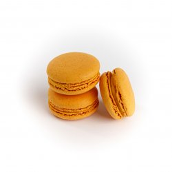 Macarons mango image