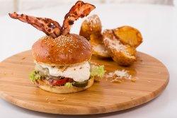 Dirty love burger ! Dijon burger ! image